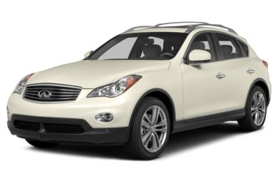 3/4 Front Glamour 2014 Infiniti QX50