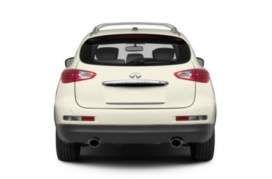 Rear Profile  2014 Infiniti QX50