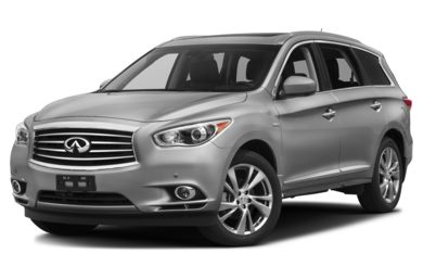 3/4 Front Glamour 2014 Infiniti QX60 Hybrid