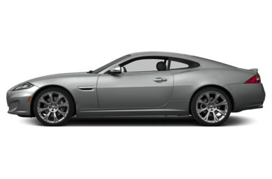 90 Degree Profile 2014 Jaguar XK