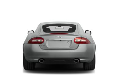 Rear Profile  2014 Jaguar XK