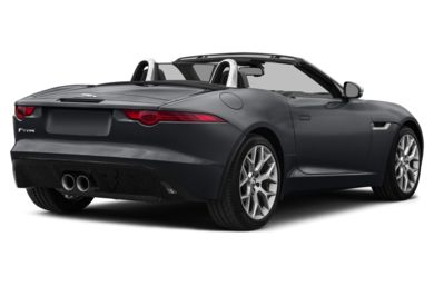 3/4 Rear Glamour  2014 Jaguar F-TYPE