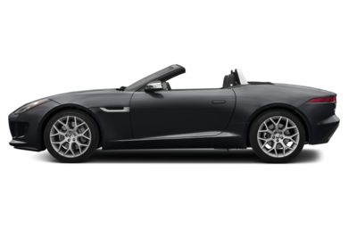 90 Degree Profile 2014 Jaguar F-TYPE