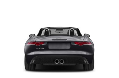 Rear Profile  2014 Jaguar F-TYPE