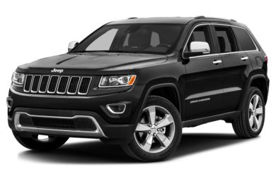 3/4 Front Glamour 2016 Jeep Grand Cherokee