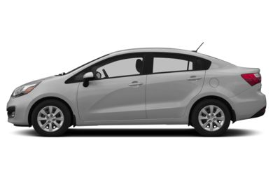 90 Degree Profile 2014 Kia Rio