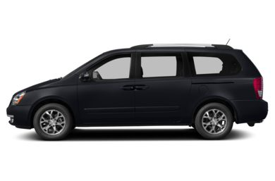 90 Degree Profile 2014 Kia Sedona