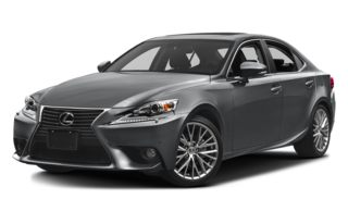 3/4 Front Glamour 2014 Lexus IS 250