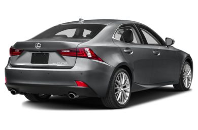 3/4 Rear Glamour  2014 Lexus IS 250