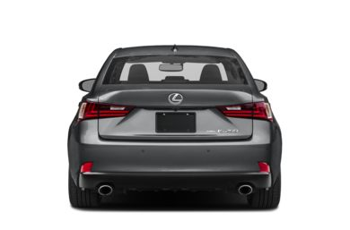 Rear Profile  2014 Lexus IS 250