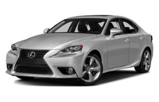 3/4 Front Glamour 2015 Lexus IS 350