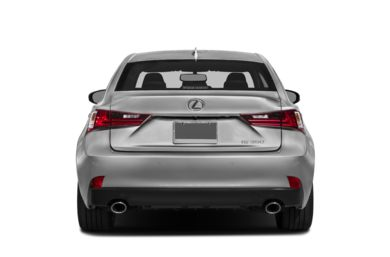 Rear Profile  2015 Lexus IS 350