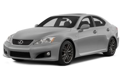 3/4 Front Glamour 2014 Lexus IS-F