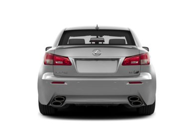 Rear Profile  2014 Lexus IS-F