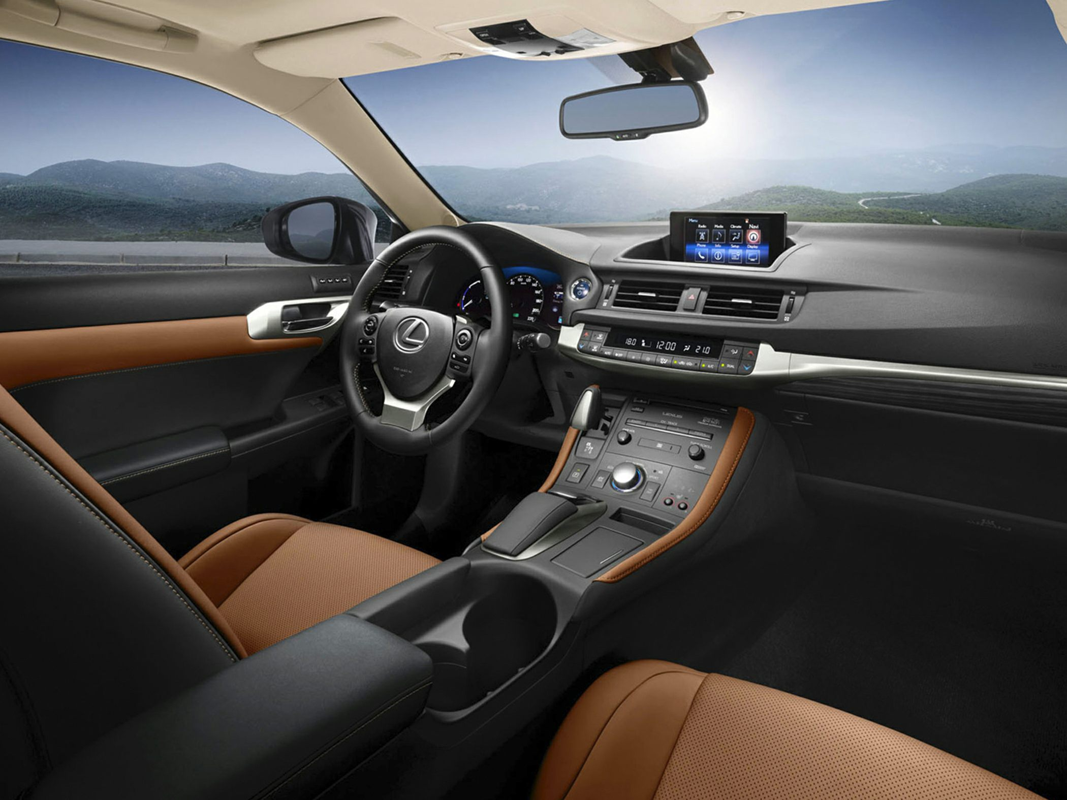 2014 Lexus CT 200h Interior