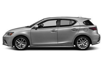 90 Degree Profile 2016 Lexus CT 200h