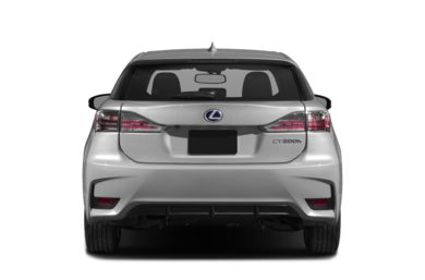 Rear Profile  2016 Lexus CT 200h