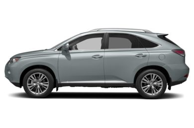 90 Degree Profile 2014 Lexus RX 350