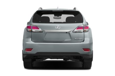 Rear Profile  2014 Lexus RX 350