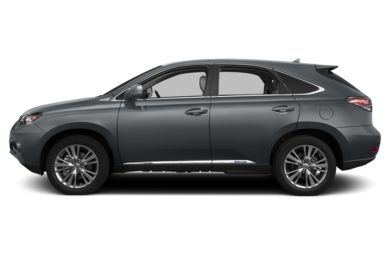 90 Degree Profile 2014 Lexus RX 450h