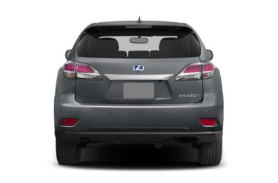 Rear Profile  2014 Lexus RX 450h