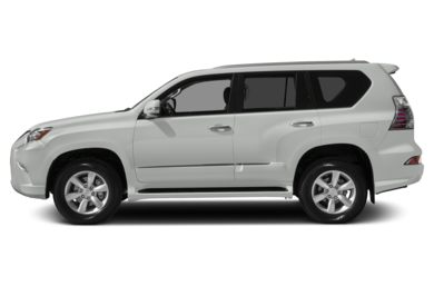 90 Degree Profile 2015 Lexus GX 460