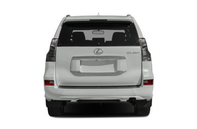 Rear Profile  2015 Lexus GX 460