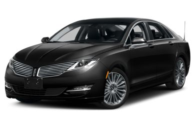 3/4 Front Glamour 2014 Lincoln MKZ Hybrid