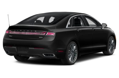 3/4 Rear Glamour  2013 Lincoln MKZ Hybrid