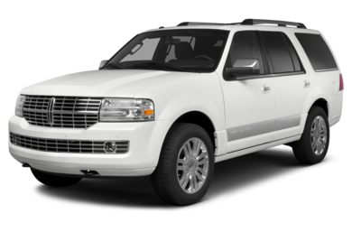 3/4 Front Glamour 2014 Lincoln Navigator