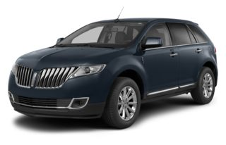 3/4 Front Glamour 2014 Lincoln MKX