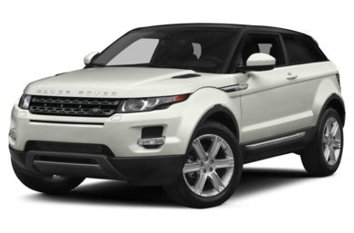 3/4 Front Glamour 2014 Land Rover Range Rover Evoque