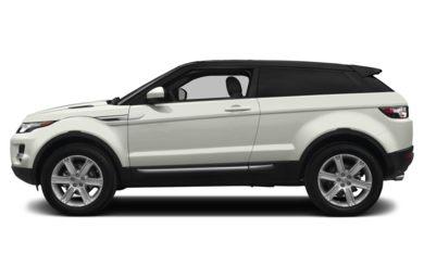 90 Degree Profile 2014 Land Rover Range Rover Evoque