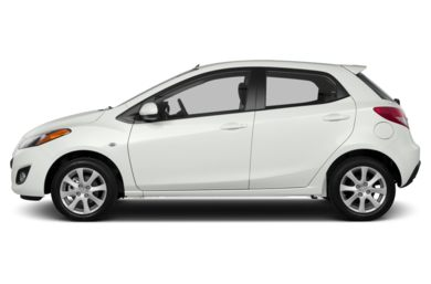 90 Degree Profile 2014 Mazda Mazda2