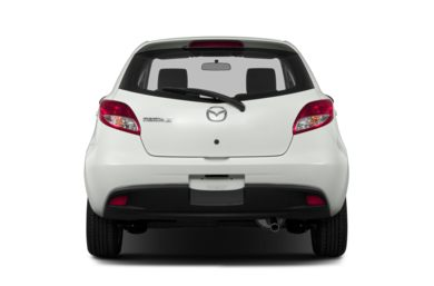 Rear Profile  2014 Mazda Mazda2
