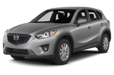 3/4 Front Glamour 2014 Mazda CX-5