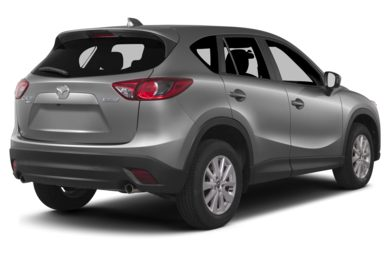 3/4 Rear Glamour  2014 Mazda CX-5
