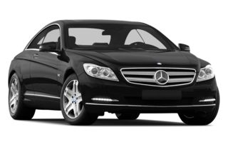 3/4 Front Glamour 2014 Mercedes-Benz CL600