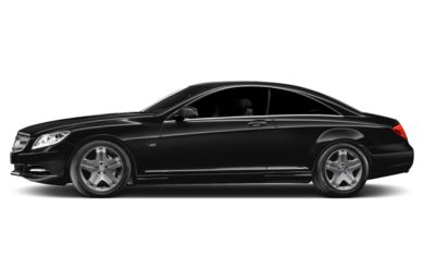 90 Degree Profile 2014 Mercedes-Benz CL600