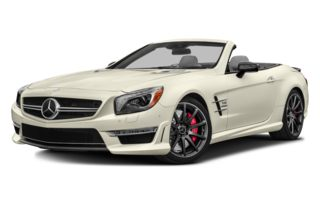 3/4 Front Glamour 2014 Mercedes-Benz SL65 AMG