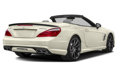 3/4 Rear Glamour  2016 Mercedes-Benz SL65 AMG