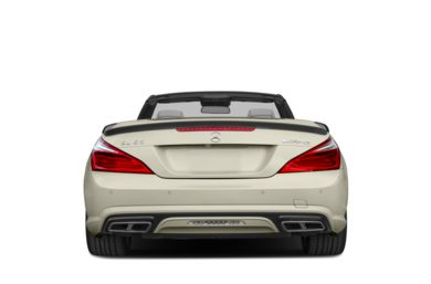 Rear Profile  2015 Mercedes-Benz SL65 AMG