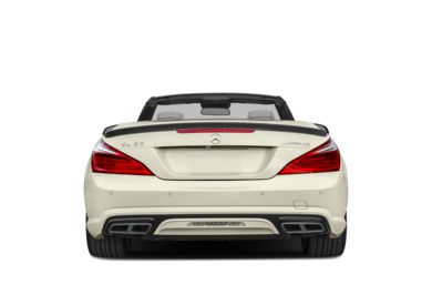 Rear Profile  2016 Mercedes-Benz SL65 AMG