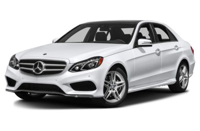 3/4 Front Glamour 2014 Mercedes-Benz E350