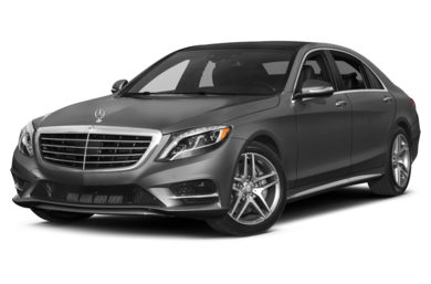 3/4 Front Glamour 2014 Mercedes-Benz S550