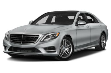 3/4 Front Glamour 2016 Mercedes-Benz S550