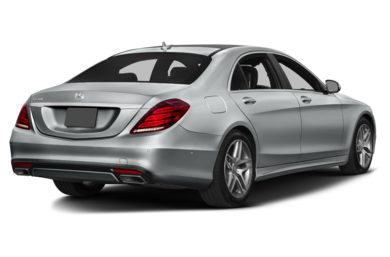 3/4 Rear Glamour  2016 Mercedes-Benz S550