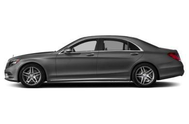 90 Degree Profile 2014 Mercedes-Benz S550