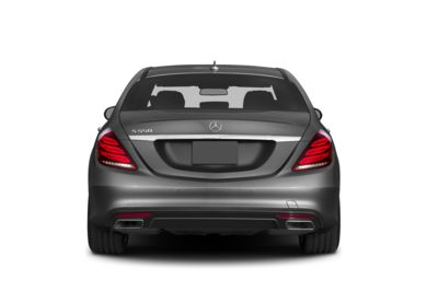 Rear Profile  2014 Mercedes-Benz S550