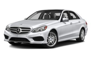 3/4 Front Glamour 2014 Mercedes-Benz E550